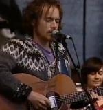 Damien singing in Icelandic